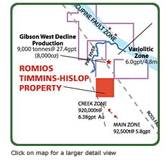 Timmins Property Location