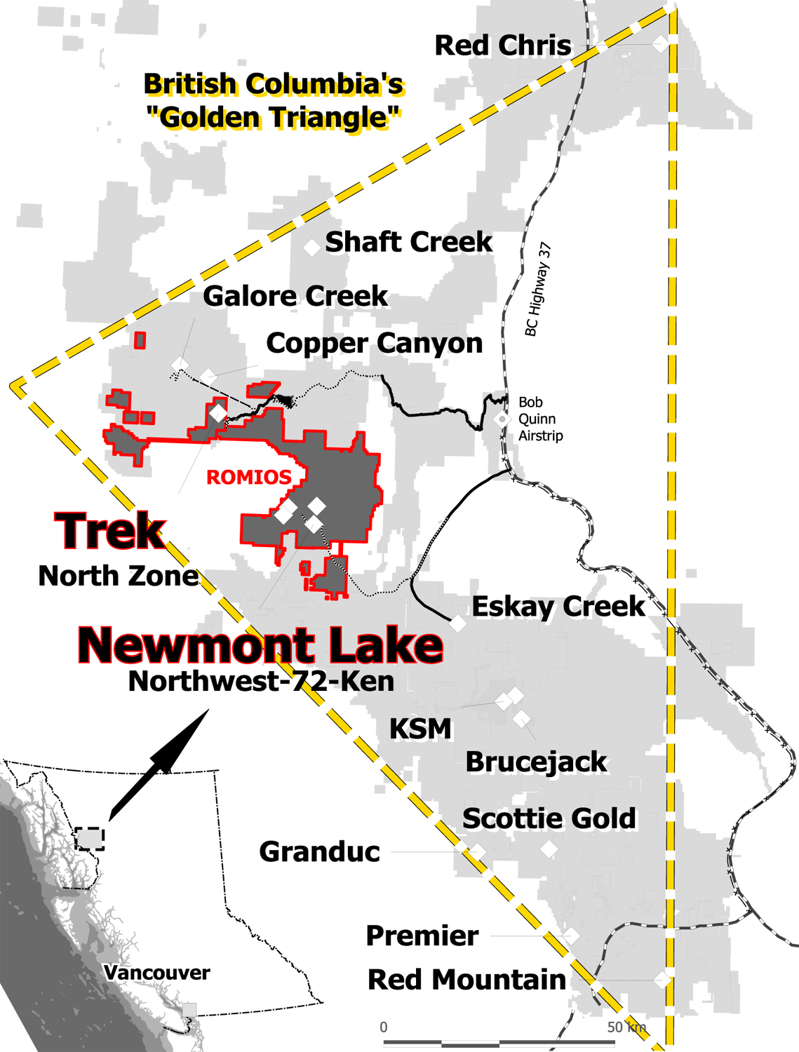 Map Gallery | Romios Gold Resources Inc